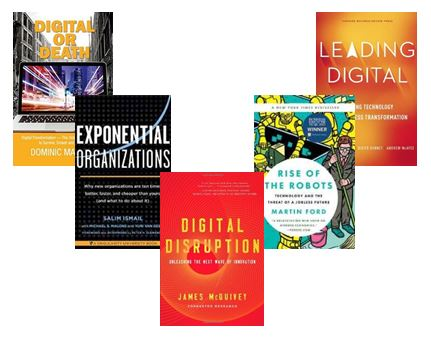 Top 5 Books on Digital Disruption|Knowledge Work as a Service
